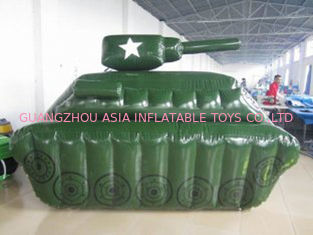 0.6mm / 0.9mm PVC Tarpaulin Fabric Inflatable Paintball Bunker