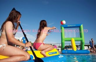 Wibit Inflatable Water Park Inflatable  Kayak Polo Goal Water Park Games
