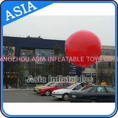 China Advertising Helium Balloon And Blimps Soccer , Sphere Flying Paint Shape Ball factory