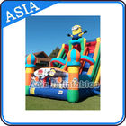 China Commercial Use Inflatable Slide With Lovely Cartoon Models For Children factory