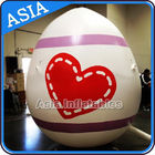Egg Shape Helium Balloon And Blimps Inflatable Easter Balloons Customized Large supplier