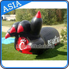 China Inflatable Black Finger Tunnel Sport Games Hot Inflatable Finger Tunnel factory