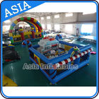 China 5ml Commercial Inflatable Bouncer Circus Bounce Playground Fun City factory
