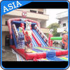 China Colorful Inflatable Slide Rental Spiderman Bouncer Slide For Sale company
