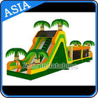 China Outdoor Giant Palm Tree Obstacle Challenge For Kids Amusement Sports factory