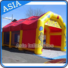 China Commercial Large Inflatable Tents Inflatable Paintball Shooting Cage factory