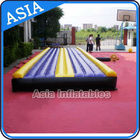 China Yoga Training Inflatable Tumble Mattress With Constant Blower factory