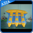 China Exciting Inflatable Flying Fish Boat 6 Person Motorized Inflatable Water Boat factory