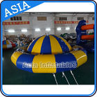 China Giant Water Floating Inflatable Saturn Rocker / Inflatable Water Disco Boat factory