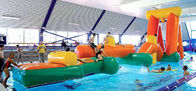 China Inflatable Aqua Challenging Sports, Inflatable Water Floating Obstacles factory