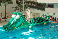China Water Challenge Sports Equipment, Inflatable Water Obstacle Courses factory
