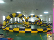 Simple Design Inflatable Race Track, Inflatable Go Kart Track, Inflatable Karting Track for Zorb Ball supplier