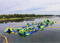 Durable Mobile Inflatable Water Park Customized Size And Color supplier