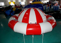 8 - 10 Person Inflatable Disco Boat Motorized Toys Semi Boat , Water Spinner Gyro supplier