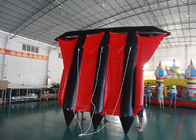 Customized Logo Towable Inflatables / Inflatable Flying Fish For Sea supplier