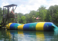 Floating Inflatable Water Trampolines , Lake Inflatable Water Blob supplier