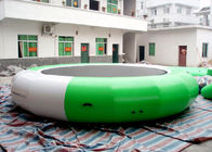 Outdoor 0.9mm Pvc Tarpaulin Inflatable Watertrampoline For Water Sports Game