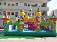 China Giant Inflatable Amusement Park, Inflatable Fair Land For Residential Park Games factory