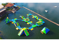 China Huge Outdoor Inflatable Water Parks for Adult / Inflatable Water Games factory