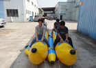 10 Person Double Seater Island Hopper Banana Boat / Towable Water Ski Tube supplier