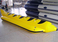 Aqua Park Towable Inflatables , 3 - 5 persong Inflatable Flying Banana Boat supplier