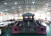 China Special OPS Black Inflatable Obstacle Challenges / Obstacle Course House factory