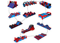 Fire - Proof Inflatable 5k Obstacle Course With 2 Years Warranty supplier
