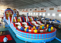 China Giant Adult Inflatable Obstacle Challenges With Digital Printing factory