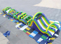 China Radical Run Extreme Inflatable Obstacle Challenges , Inflatable Slide Run factory