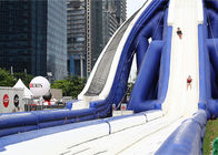 0.55mm PVC Tarpaulin Giant Inflatable Slide For Beach Sports Exciting supplier