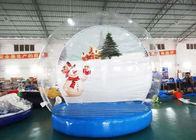 Holiday Decoration Large Christmas Inflatable Snow Globe 3m To 8m Diameter supplier