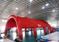 Durable Huge Inflatable Arch Tents , Nylon Fabric Outdoor Dome Tent supplier