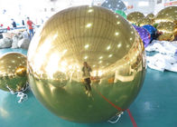 China Decoration PVC Material Inflatable Mirror Balloon Colorful Mirror Display factory