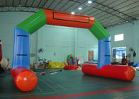 China Inflatable Airtight Water Floating Stand Arch For Advertising Promotion Or Game factory
