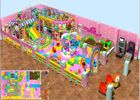 China Kids Indoor Soft Blow Up Playground With Candy Theme 3 Years Warranty factory