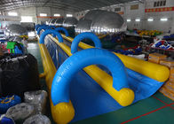 China Giant Inflatable Water Slide With 0.55mm ~ 0.90mm PVC Tarpaulin Material factory