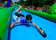 Fire Retardant Outdoor Street Dry And Wet Slides For Amusement Park / Festival supplier