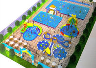 Safety Outdoor Playground Inflatable Water Parks For Adult And Kids / Aqua Park Equipment supplier