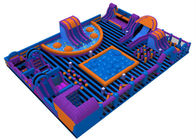 China Water - Proof Family Inflatable Amusement Park / Commercial Indoor Playground company