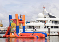 Giant Lake Inflatable Water Sports With 0.9mm PVC Funny Jumping Pillow Tower supplier
