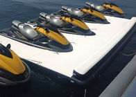 Floating Inflatable Yacht Slides Boat Extension Dock With 3 Years Warranty supplier