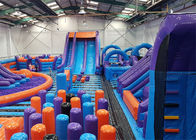 Indoor Games Inflatable Theme Park For Kids And Adults Entermainment supplier