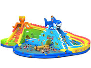 China Giant Entertainment Inflatable Water Park  / Water Game Equipment factory