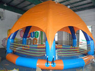 China Family Size Kids Inflatable Pools With Tent Cover factory