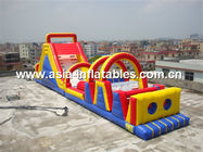 China 19ml Inflatable Obstacle Courses Games For Children Park Games company
