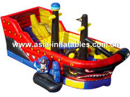China Creative Inflatable Pirate Ship Funland, Inflatable Funcity For Children Games company