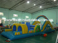 China Commerical Used Inflatable Obstacle Challenges, Obstacles Courses company