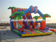 China Hot Rental Inflatable Slide With Archway For Kids Entertainment company