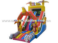 China Home Use Inflatable Slide In Safari Park Design For Children Party And Holiday factory