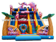 China Outdoor Inflatable Slide In Octopus Style For Children Sports Games factory
